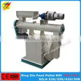 HKJ250 animal livetsock poultry feed pellet machine for wheat rice bran molasse corn