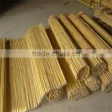 WY-164 Flexiable white bamboo cane and bamboo sticks bunch fencing for garden plant