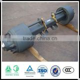Chinese manufacturer trailer parts trailer axle(Fuwa/BPW/Sitong)