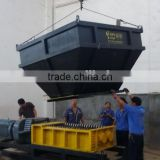 OEM dual spindle shredder for MSW process plant