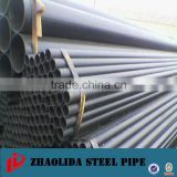 ASTM A53 erw welded round steel pipe welding Mild black pipe carbon steel pipe manufacturer