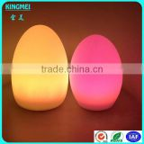 Flashing Rechargeable Waterproof Led Table Lamp,Night Stand Table Lamp,Led Egg Shaped Bar Light