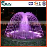 Lake water decoration wedding decoration outdoor musical water fountain