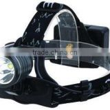2015 Black high power multi-function led headlamp supplier