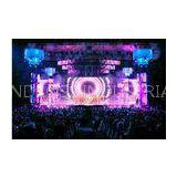 Shenzhen P10.416 indoor/ outdoor full color led mesh screen curtain for stage and event