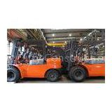 Industrial Gasoline 3T Forklift Truck With Integral Side Shift , Counter Balance Fork Lift