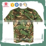 Custom scoop neck organic cotton army t shirt wholesale cheap