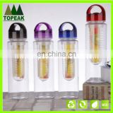 Fashion Flesh Fruit Infuser Water Bottle Sports Health Lemon Juice Make Bottle Cycling Camping Cup