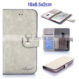 16*8.5*2.5cm Universal Smart Phone Wallet Style Leather Case, Universal Case for Smartphone