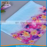 expecial style celeste one layer 100 percent silk cheap silk scarf