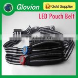 LED waistband for mobile LED belt for key Glow waistband for sport