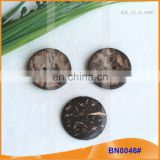 Natural Coconut Buttons for Garment BN8046