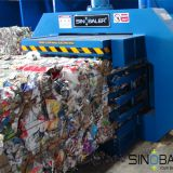 Recycle Cardboard with a Hydraulic Cardboard Baler