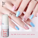 3g clear HQ Free(below 50ppm)Nail glue cyanoacrylate nail art for stick fake/artificialnail