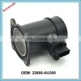Auto parts For Nissans OE 22680-AU300 Mass Air flow sensor/Mass Air Flow Meter 22680AU300
