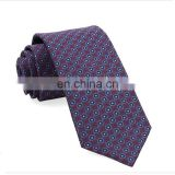 Mens homme medallions printed business silk tie