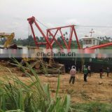River Sea Sand Pumping Dredger Machinery