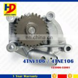 Genuine Type Engine 4D94 4TNV106 4TNE106 4D106 YM123900-32001 Oil Pump 123900-32001