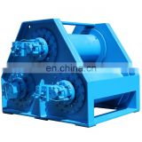 Wide use for the 40 ton Hydraulic Garbage Winch Hydraulic Truck Winch