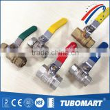 "GAS WATER Heater System PN20 3/4"" female ball valve with multi color limit switch"