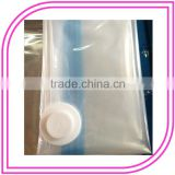 Clear different sizes PA/PE Vacuum Pumping Air Bag with Valve Double zipper 100*130cm