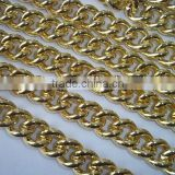Golden Chunky Aluminum Curb Link Chain