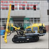 Open mines ! low air consumption ! HF138Y quarry drilling equipment