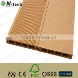 Techwoodn Superior, Eco and natural construction material, rainbow color, yellow WPC outdoor decking, wood plastic composite