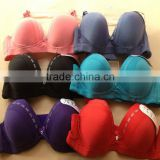 1.05 USD 36-42 C Cup Top Good Quality Diamonds Print Ladies Bra Brands Without Rim Inside(gdwx140)