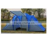 2 rooms 1 hall whole family use large capacity camping tent