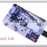 Credit card shape usb memorry stick