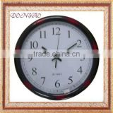 wooden quartz wall clock