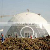 Dome-shaped tent Event dome marquee Steel frame white PVC cover 15m diameter Steel frame dome tentmarquee for sale