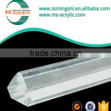 hot sale Mingshi customized multi-style high quality colored / clear acrylic plexiglass rod