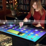 USB Interface Transparent 55 Inch Capacitive Touch Foil 10 touches for touch screen monitor,touch table