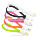Universal Bracelet Magnet Adsorption Micro Wrist Band Magnetic Micro to USB 2.0 Dock Cable
