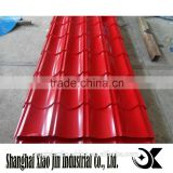 China manufacturer colorful roof tile/l building materials/ prepainted embossed galvanized steel sheet