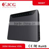 OEM 300M 4 RJ45 Lan+1 Wan port two 5dBi Detachable Omni Directional mini vdsl csble modem wireless N 4p gsm router in wall lan