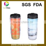 double wall starbucks plastic coffee cups mugs with paper insert
