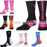 sports coolmax compress basketball socks,OEM orders,New designs with your LOGO