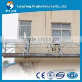 Construction scaffolding / suspended access equipment / temporary gondola working platform