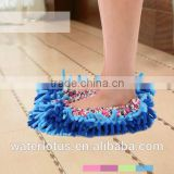 new design polyester cleaning slipper shoes mop floor wipe dust slipper                                                                         Quality Choice