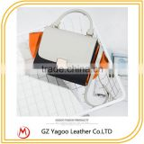 2016 latest wholesale occident fashion style lady bat shape cross body bag messenger leather handbags