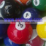 pool soccer ball giant table game snookball Billiard Soccer Balls