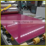 Man made rose quartz stone, big slabs cut artificial rose quartz tile