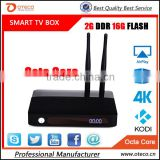CSA91 Android TV Box 2gb Ram 16gb Rom RK3368 mini pc Octa Core 2G+16GB 4K Smart Media Player 3 USB Port BT 4.0WiFi 2 antenna