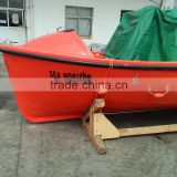 With SOLAS Approved Certificate 6 Persons Frp Rescue Fiberglass Boat