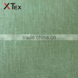 100 polyester 190gsm faux linen fabric for household,office,restaurant table cloth,cushion cover made in china