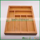 Fuboo Totally Bamboo Expendable Tray drawer organizer FB5-1072                                                                         Quality Choice