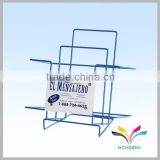 China manufacturer high quality hot sale display stand metal wire durable floor standin barbell rack
